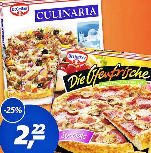 """Dr.Oetker """"Die Ofenfrische"""" mit Sofort-Rabatt-Coupon 1,72€ bei [Real]"""