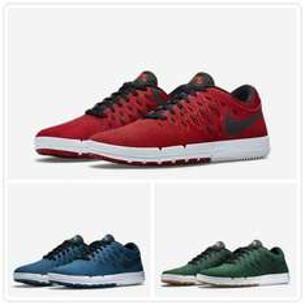 [nike.com] Nike Free SB - Rot, Blau & Grün für 61,59€