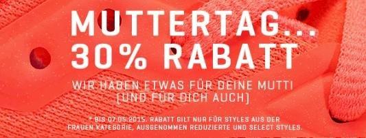 """Muttertag 30% Rabatt Aktion bei  PUMA in der Kategorie """"Frauen"""""""