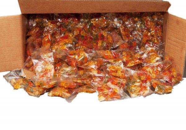 12 kg Fruchtgummi Bären (ca. 200 Beutel, einzeln verpackt) Wurfmaterial Karneval für 33,90€ @ Amazon