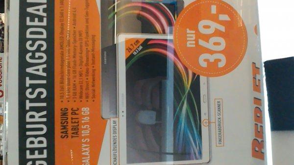 Samsung Galaxy Tab S - WiFi | 10.5 Zoll [Lokal: Berlet Markt Hagen]