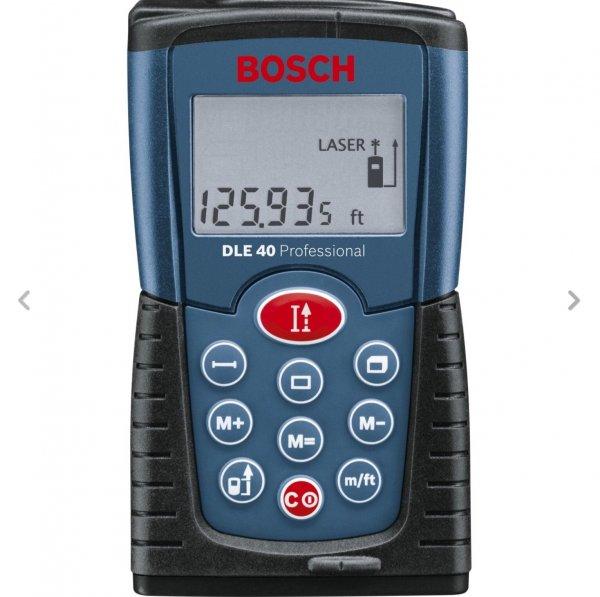 Bosch DLE 40 Laser Entfernungsmessungsgerät Ebay Value Hero Wochendeal