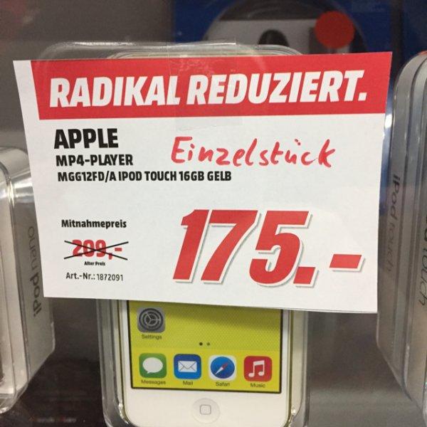 [Lokal MM Meerane] iPod Touch 16GB Gelb