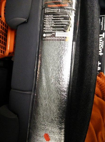 (Tedi Wuppertal) Thermoschutzmatte 140cm X 70cm  für 0,10€