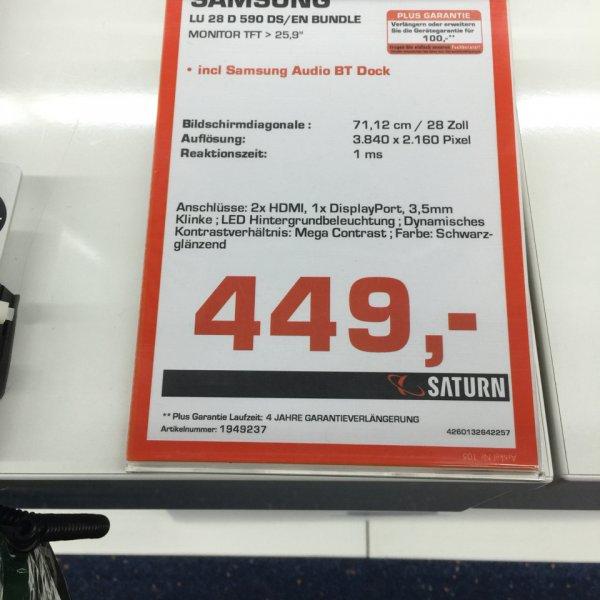 Lokal Aachen Samsung 4k U28D590 + Soundstand