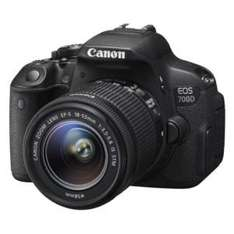 Canon EOS 700D 18 MP DSLR - Kit mit EF-S IS 18-55 STM
