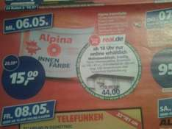 Alpina Innenfarbe 15,00 € [real]