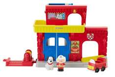 Feuerwehr-Station von Little People (Fisher Price - Mattel) [Amazon PRIME]