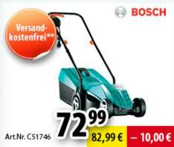 [voelkner.de] Bosch Rotak 32 Elektro-Rasenmäher für 72,99 Euro