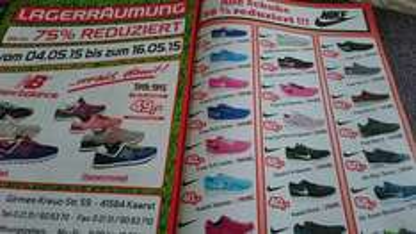 Lokal- Kaarst - Sport Pasch  - Nike Free 5.0