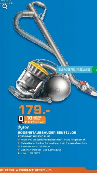 [Lokal Mannheim Saturn] Dyson Staubsauger DC 33C Plus