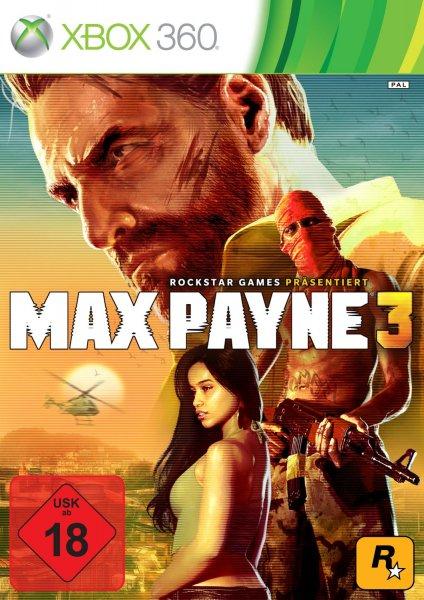 Max Payne 3 (Xbox 360) PEGI inkl. VSK für 5,95€ (Vergleichspreis ~10€)