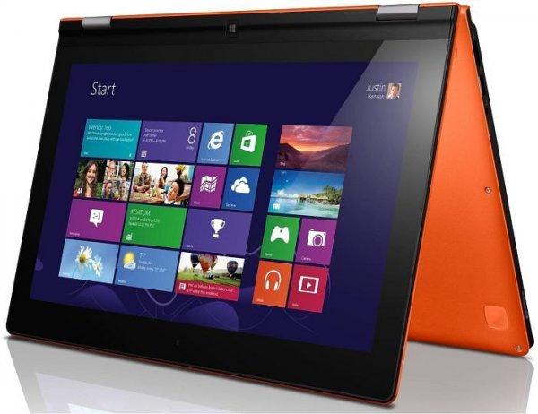 "Lenovo Yoga 2 13 orange - i3-4030U, 8GB RAM, 500GB HDD, 13,3"" Full-HD IPS-Touchscreen, Win 8.1 - 629,90€ @ Notebooksbilliger.de"