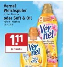 Rewe KW19 Vernel Weichspüler 78Cent  (Mindestabnahme 3Stk für Rabatt)