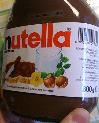 Metro: Tagesdeal 07.05.2015 Nutella 800g für 2,66€