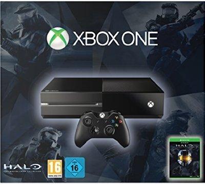 [Amazon - Blitzangebot] Xbox One Konsole inkl. Halo - The Master Chief Collection (DLC) für 299€