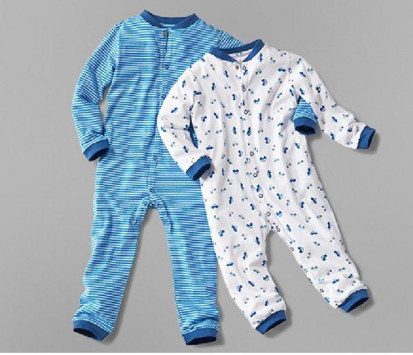 Tagesdeal bei Tchibo – 2 Baby- / Kleinkinderschlafanzüge Gr. 62 – 104 für 8€ bei Filiallieferung
