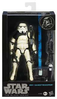 Star Wars Sandtrooper Black Series Action Figur von Hasbro ca 23€ @amazon.uk
