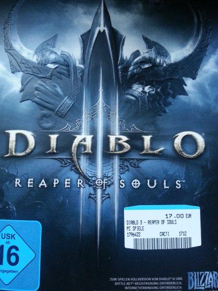 [LOKAL Nürnberg] MediaMarkt (Mercado) - Diablo 3 - Reaper of Souls [PC] - AddOn für 17€