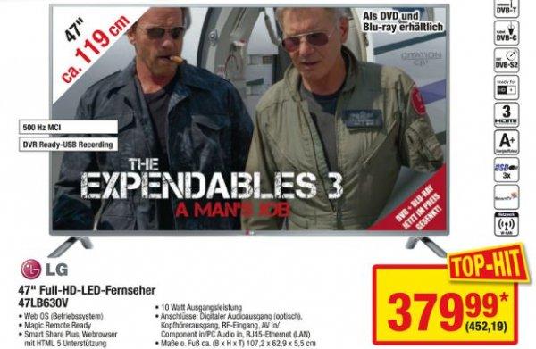 LG 47LB630V 119 cm (47 Zoll) für 452,19 € [Metro]