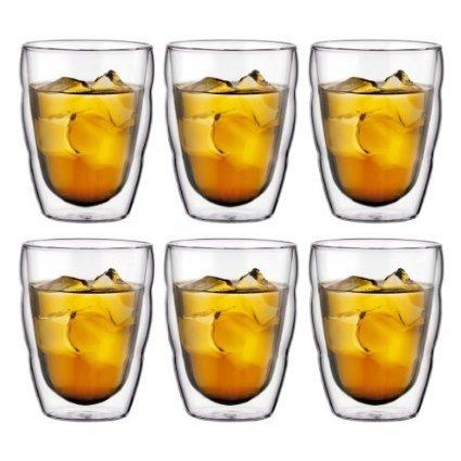 [3% Qipu] 6 x Bodum Thermo-Glas (kalt und heiß) Pilatius 250 ml 6 für 34€ frei Haus @Völkner