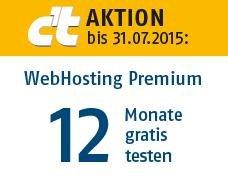 WebHosting Premium (100GB, MySQL, PHP) bei Host Europe - 12 Monate kostenlos & selbstkündigend