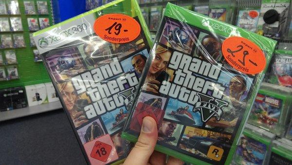 GTA V für XBOX 29€ (ONE) // 19€ (360)