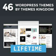[46+ Wordpress Themes] Themes Kingdom Lifetime Access - 40 Euro - bei Mighty Deal