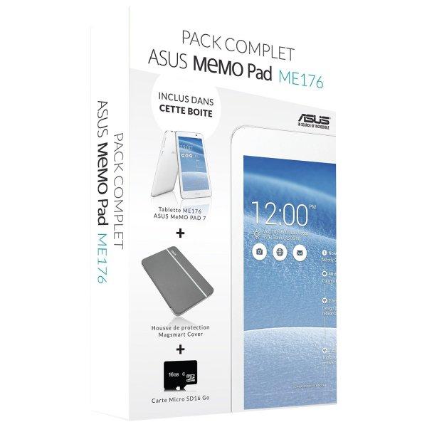 [Amazon.fr] Asus MemoPad 7 2014 ME176CX Bundle (Tablet + Tasche mit Standfunktion + microSD) für 104€ *** als [WHD] ab 75€