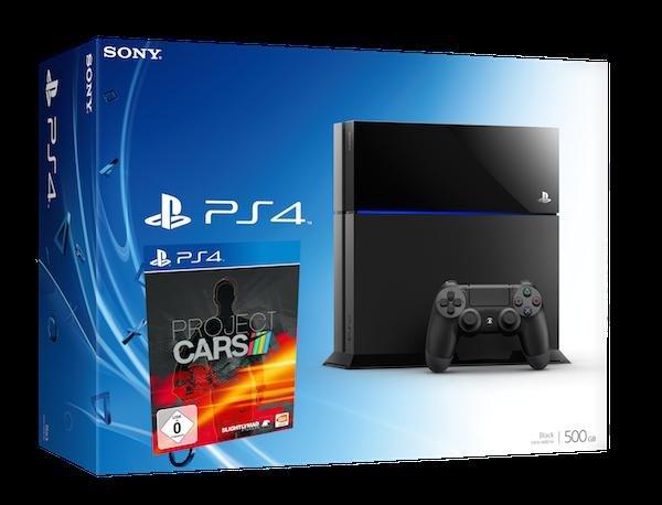 [Amazon] PlayStation 4 + Project Cars für 399,-