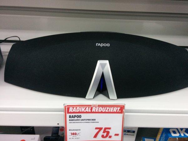 [lokal Ruhrpark BO] Rapoo Bluetooth Lautsprecher im Media Markt