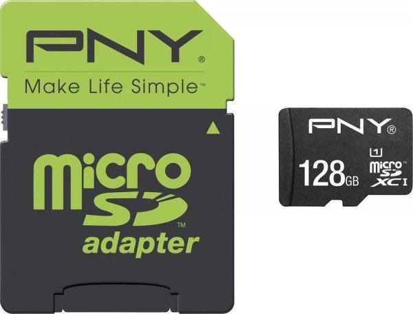 PNY microSDXC High Performance 128GB Class 10 UHS-I für 62€ @Voelkner
