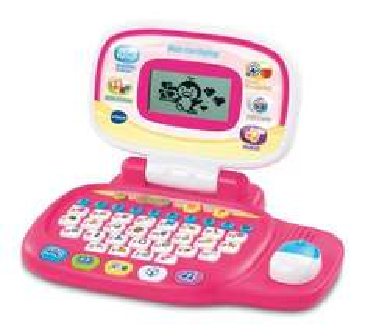 [Amazon-Prime]VTech 80-155454 - Mein Lernlaptop, pink