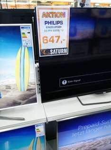 [Lokal Frankfurt Saturn] Philips 55PFK6959 647€