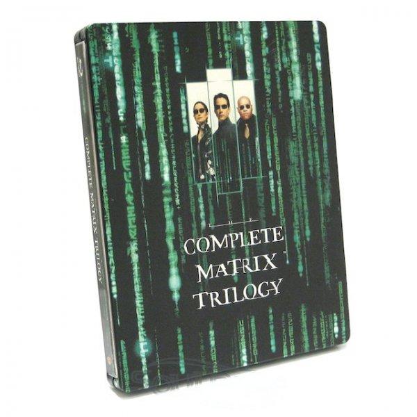 Matrix Trilogy Steelbook [Blu-ray] @Amazon Prime