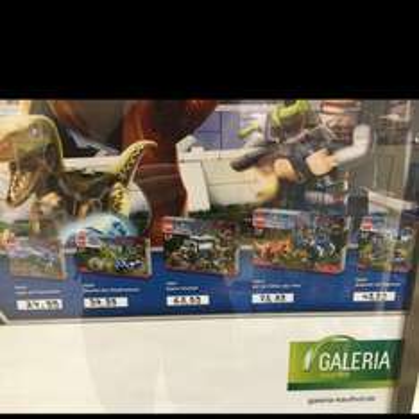 Lego 7-9% auf Lego Jurassic World bei Galeria