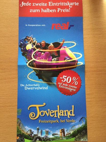 Toverland - Jede zweite Eintrittskarte zum halben Preis
