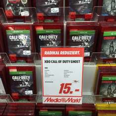 Call of Duty Ghost für XBox oben