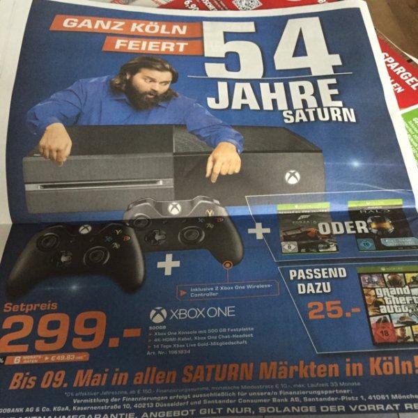 Xbox One mit 2 Controllern und Halo MCC lokal Köln 299!
