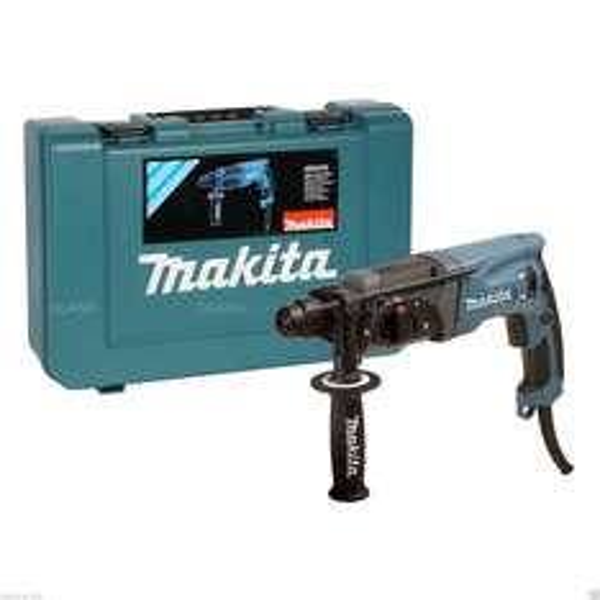 Makita Bohrhammer HR2470 blau + Transportkoffer für 119,90 € statt 137,89 €, @Ebay