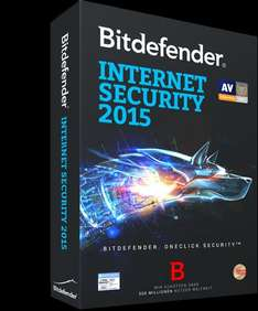 Bitdefender Internet Security 2015 - 3 PC - 1 Jahr
