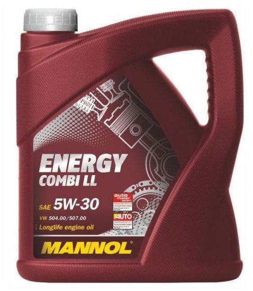 Wieder da! Mannol 5W-30 (Longlife) Motorenöl 5 Liter für 18,90€