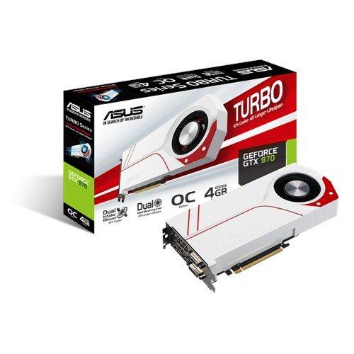 ASUS TURBO GTX970 - 2x DVI, HDMI, DisplayPort, 3,5GB + 512MB Speicher für 293,80€ - Schwanthaler Computer