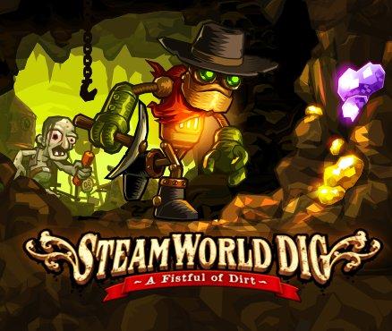 SteamWorld Dig (Wii U) für 4,49€ statt 8,99€, Trine 1/2 (Wii U) für 8,99€/8,49€ statt 12,99€/16,99€ @nintendo eshop