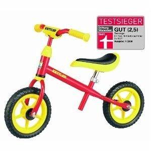 """@MyToys.de - KETTLER Laufrad Speedy Rot 8715-000 (10"""", 2-5 Jahre, belastbar 50KG, Testsieger) inkl. Versand für 22,94€"""