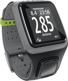 [Runners Point] Tom Tom GPS Sportuhr Runner HRM Dark Grey inkl. Brustgurt