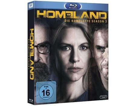 (mediamarkt.de) Homeland - Staffel 3 auf Blu-Ray für 17,90€ + 1,99€ VSK