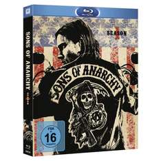 (mediamarkt.de) Sons of Anarchy - Staffel 1-5 auf Blu-Ray ab je 14,90€ + 4,99€ VSK