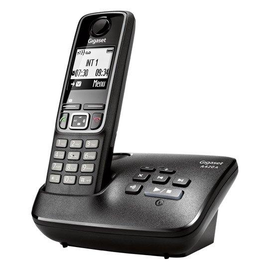 Gigaset A420A Telefon mit Anrufbeantworter @real-Markt