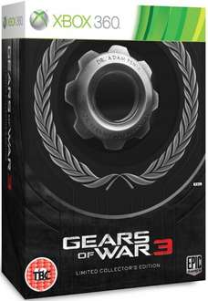 (UK) Gears Of War 3 Limited Collectors Edition Game [Xbox 360] für ca. 18,86€ @ 365games.co.uk
